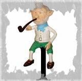 Лепрекон 1 - маленькая кукла своими руками