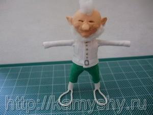 Лепрекон 3 - маленькая кукла своими руками